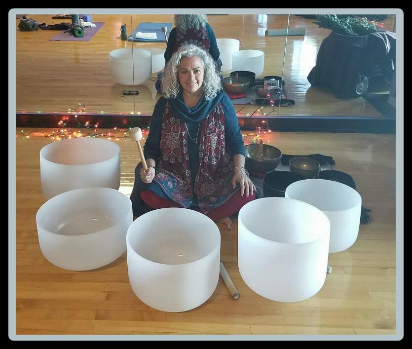 Healing Hearts Crystal Bowls image