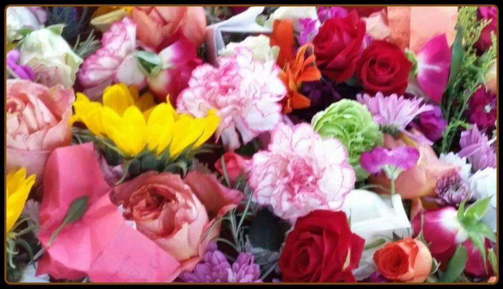 Spring Equinox Puja - 2017 Beautiful Puja Flowers image