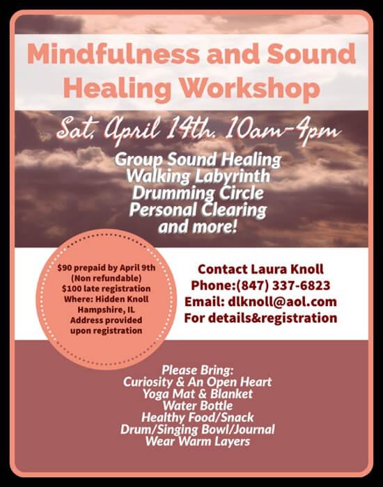 Mindfulness Sound Healing Workshop image