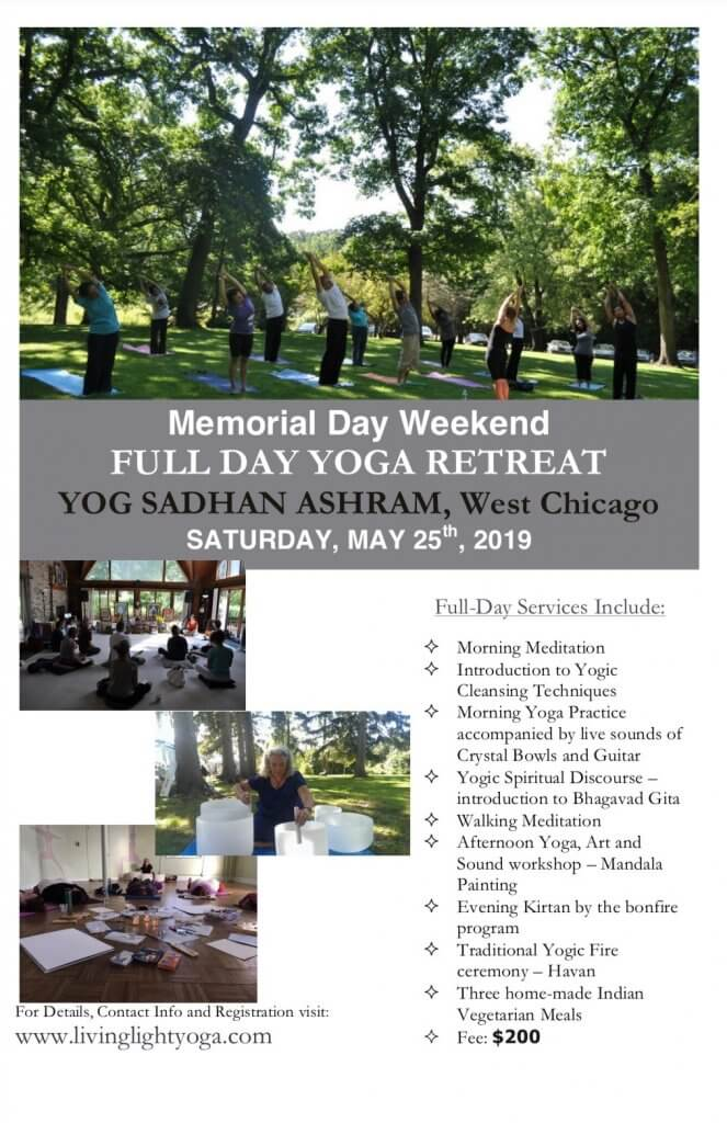 Memorial Weekend Retreat flyer