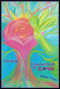 Living Connected to Love Cover framed image